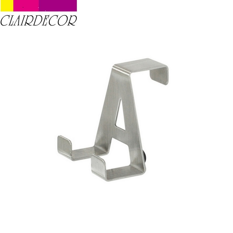 Multipurpose Stainless Steel Hooks  Kitchen Cabinet Clothes Home Storage  Hanger Bathroom Towel Door Hooks Крючки для полотенец