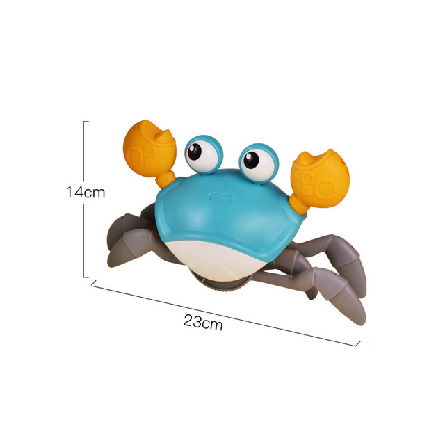 New Classic Cute Cartoon Animal Crab Baby Water Beach Toy Floating Pulling Clockwork Beach Swimming Pool Bath Toys For Kids Gift 6