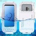 Cadiso 45 m/147ft Wasserdicht Tauchen Fall Gehäuse Foto Video Aufnahme Unterwasser Abdeckung für Galaxy Huawei Xiaomi mit Typ -C Port