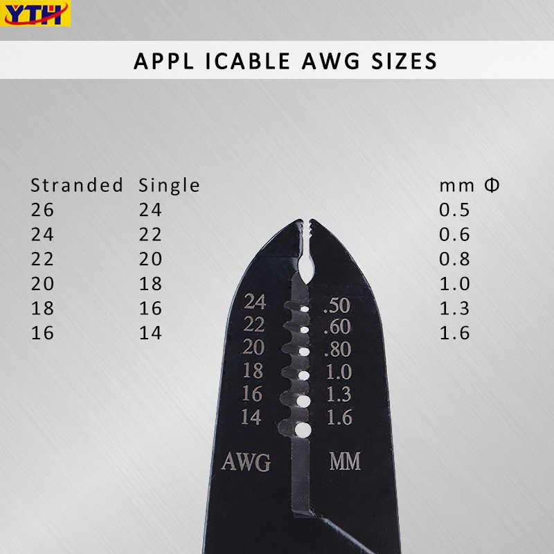 7inch Multifunctionele Draad stripper Draagbare Striptang Krimpen Elektricien Snijden tang 0.25mm-2.6mm Optioneel