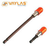 2Pcs 60mm 150mm 1/4 Inch Hex Shank Quick Release Electric Screwdriver Adapter Holder Extension Bar Power Tool Accessories