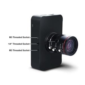 Image 3 - 12MP HDMI מצלמה 1080P USB HD הזרמת Webcam הקלטת 4K @ 30FPS תעשיית C/CS הר מצלמה עם 6 12 עדשה