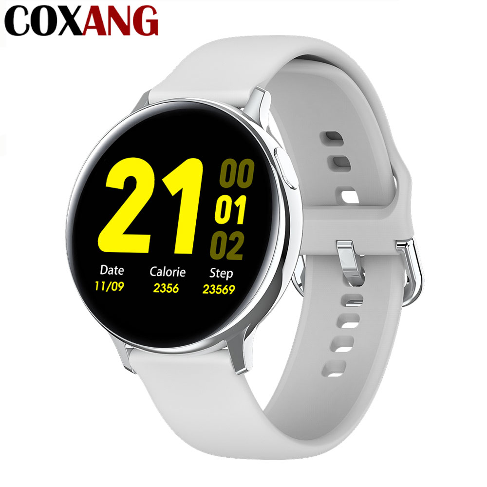 COXANG Iwo 20/ECG PPG Smart Watch Men Heart Rate Blood Pressure Smartwatch Iwo 8/10 Series S20 Smart Watch 2020 For Android IOS