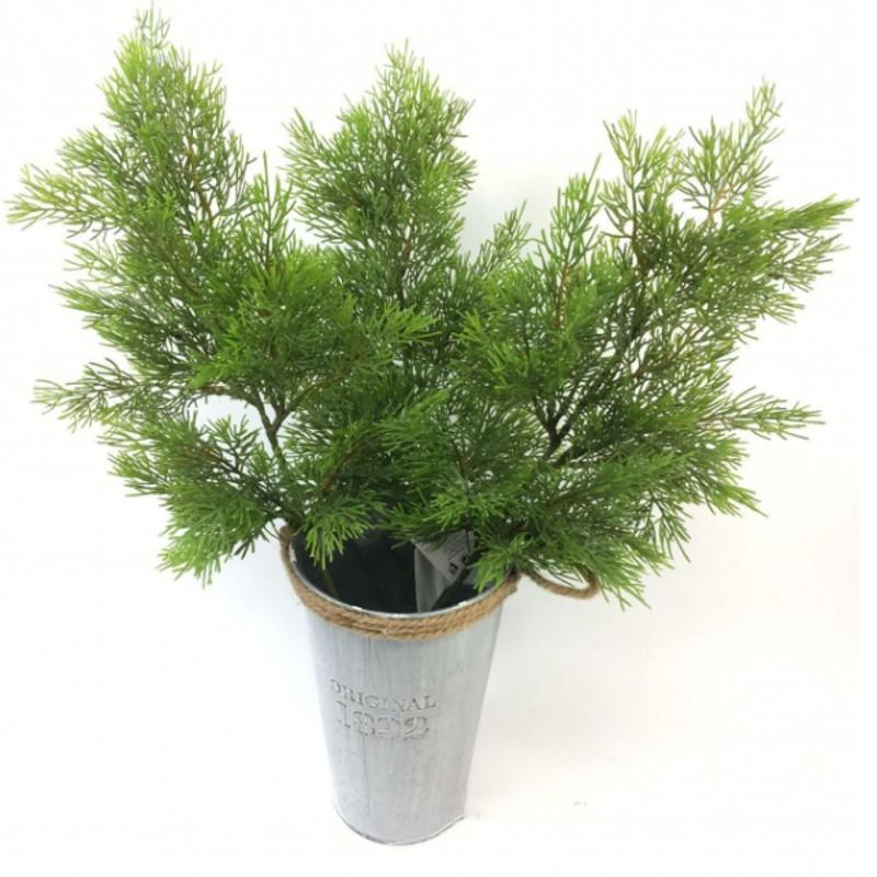 Artificial Green Cypress Tree Leaf Pine Needle Leaves Branch Christmas Wedding Home Office Hotel Decoration