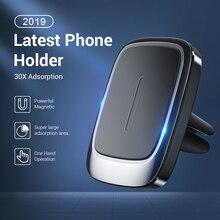 FIVI soporte magnético para teléfono móvil Iphone 11 Pro Max Xr, soporte de montaje para coche