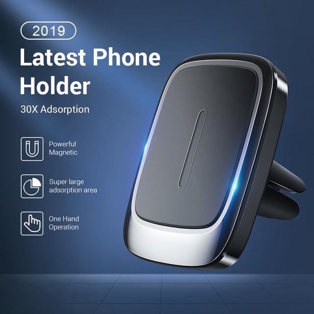 FIVI voiture support de téléphone magnétique pour téléphone portable évent aimant support de téléphone pour Iphone 11 11 Pro Max Xr support de voiture