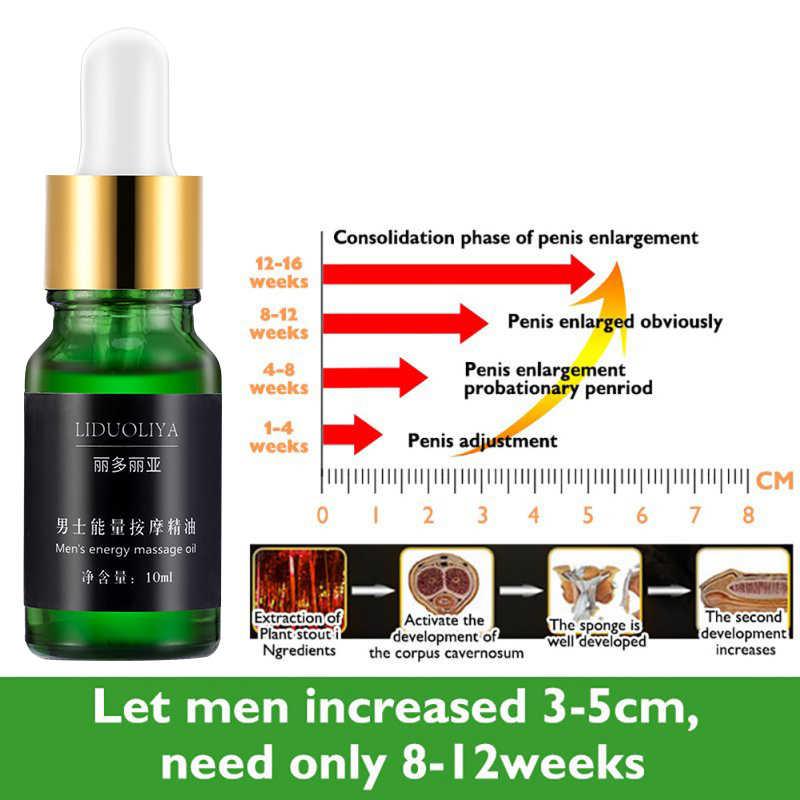 10ml גברים של עיסוי חיוני שמן הגדלת פין מהיר זקפה לשפר הנאה גברים של עיסוי שמן מתעכב אספקה למבוגרים TSLM