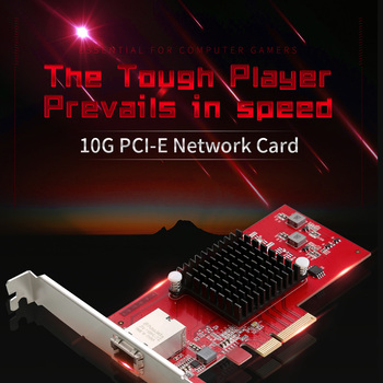 CF-P100 10G Ethernet PCI-E Wireless adapter 2.5G/5G/10G Network card PCIE-X4 10Gbps Fast transmission Dongle