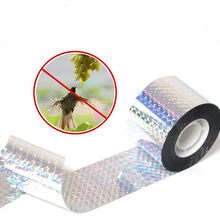 Anti Bird Tape Audible Repellent Fox Pigeons Repeller Ribbon Tapes for Pest Control For Garden Agriculture Supplies(China)
