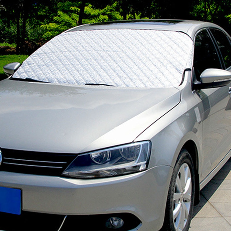 Car Exterior Protection Snow Blocked Car Covers Snow Ice Protector Visor Sun Shade Front Rear Windshield Cover Block Shields