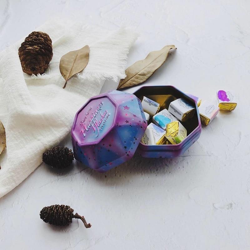 Немецкие акварельные краски ручной работы для дизайна ногтей Перламутровые Твердые остроконечные чернила для нишевых линий чернила для ка...
