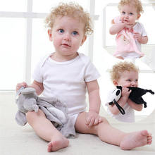 Baby Appease Towel Bear Comforting Toy Baby Newbron Soft Plush Soothe Appease Doll Towel Sleeping Toys Baby Toys For 0-12 Months(China)