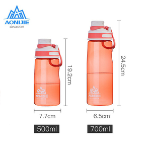 Image 3 - Aonijeกีฬาน้ำขวดSD32 Leakproofแบบพกพาถ้วยกาต้มน้ำBPAฟรีสำหรับขี่จักรยานวิ่งออกกำลังกายฟิตเนส500Ml 700Ml