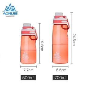 Image 3 - Aonije sport bouteille deau SD32 étanche Portable tasse bouilloire sans BPA pour le cyclisme course Fitness gymnase 500ml 700ml