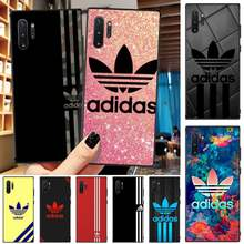 OFFeier luxury brand letter label AD Soft Silicone TPU Phone Cover For Samsung Note4 5 7 8 9 10 Note10 Pro M10 20 30(China)