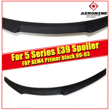 For BMW E39 Series & M5 High Kick Big Trunk Spoiler Wing FRP Unpainted M4 style 520i 525i 528i 535i 550i wing rear spoiler 96-03