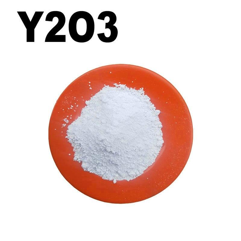 100 Gram Y2O3 High Purity Powder 99.9% Yttrium Oxide For R&D Ultrafine Nano Powders About 1 Micro Meter