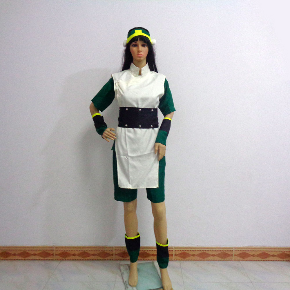 Avatar The Last Airbender Toph Bei Fong Christmas Party Halloween Uniform Outfit Cosplay Costume Customize Any Size