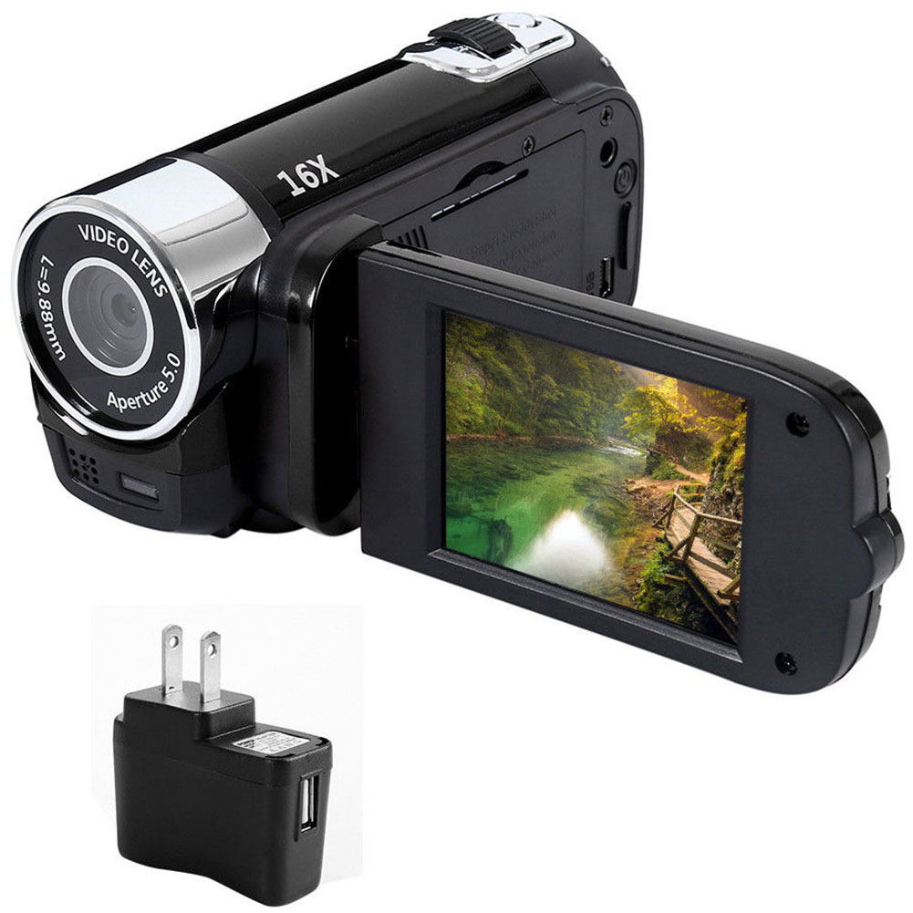 1080P  DVR Camcorder Shooting Anti-shake Clear Gifts Digital Camera Professional Timed Selfie High Definition Night Vision 1