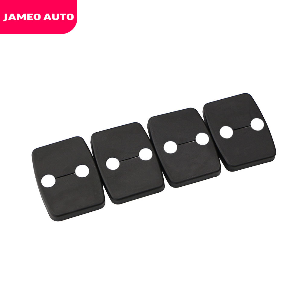 Car Styling 4pcs/set Car Door Lock Protective Cover Decorative Accessories For BMW 1/2/3/4/5 Series X1/X3/X4/X5/ 2004-2013