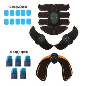 Image 1 - Ems トレーナー筋肉マッサージ電気マッサージ器 abs 刺激ヒップ腹部アーム腹部フルトレーナー