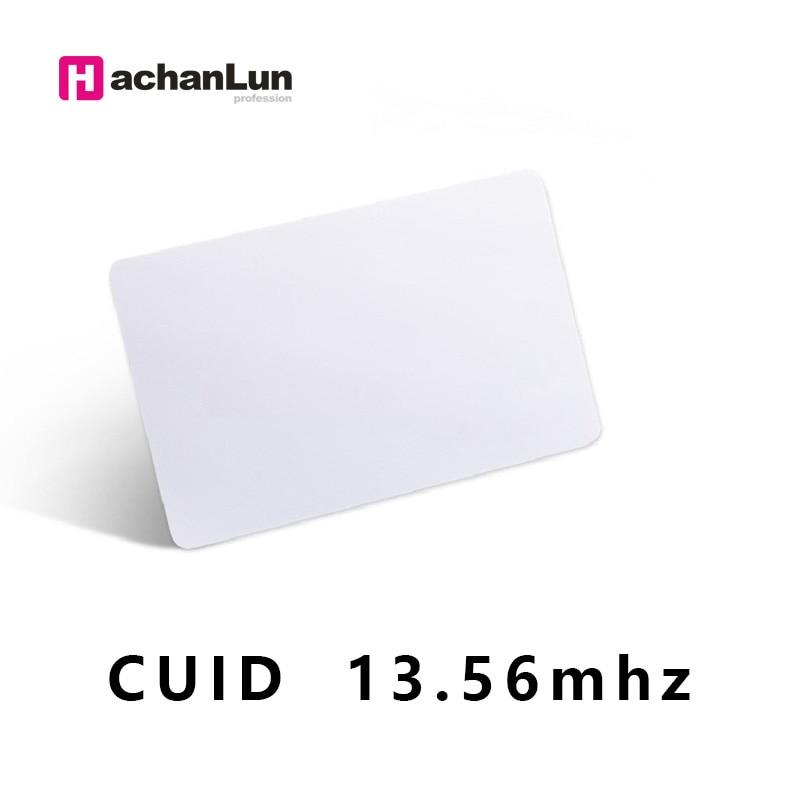 10pcs/lot RFID CUID UID CARD Modify UID Changeable NFC MF 1k S50card  Block 0  13.56MHz