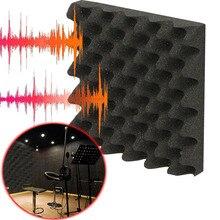 Волна Форма Звук Поглощение Пена Губка Блок Звук Шум Изоляция Бар Для Запись Студии Дом Кинотеатры КТВ Стена 25x25x5 см