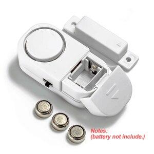 Image 5 - Home Sicherheit Alarm System Alone Magnetische Sensoren Unabhängige Wireless Home Tür Fenster Entry Alarmanlage Sicherheit Alarm