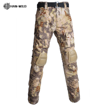 Military Uniform  Tactical Combat Shirt Us Army Clothing Tatico Tops Airsoft Multicam Camouflage Hunting FishingPants Elbow/Knee 8