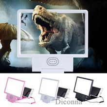 Magnifier Speaker Mobile-Phone-Screen Bluetooth-Stereo 3D with HD