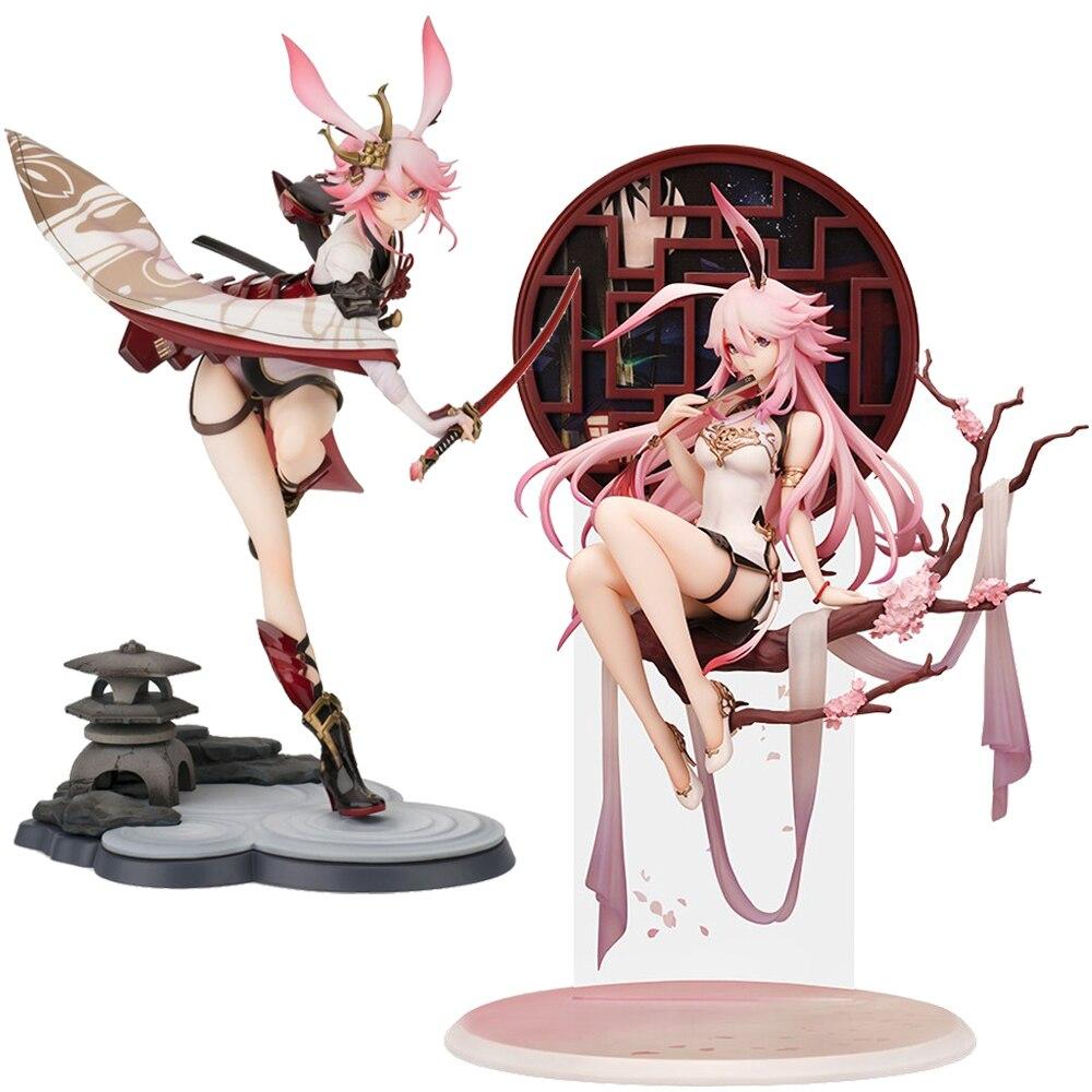 25-35cm Honkai wpływ 3 Kiana Kaslana Sakura Yae Heretic Miko Sexy dziewczyny figurka japońskie anime dorosłych figurki zabawki