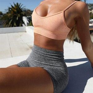 Image 5 - Kaminsky Ombre bezszwowe legginsy Push Up modne spodnie wysokiej talii trening Jogging dla kobiet Athleisure legginsy treningowe