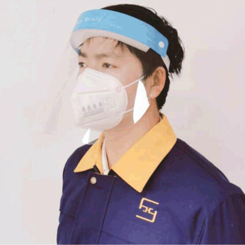Anti Fluids Protection Hat Face Masks Clear Cover Anti Anti-fog Windproof Cap Anti-spit Visors Hats Women Men Accessories