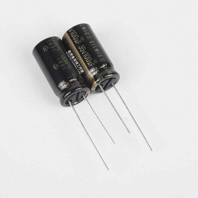 10PCS ELNA 태국 RFS SILMIC II 35V100uF 10X20MM 오디오 전해 커패시터 SILMICII 100 미크로포맷 35V