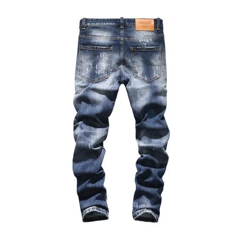 spodnie jeansowe męskie proste markowe