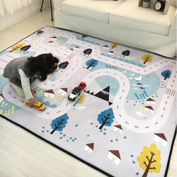 Baby Carpet Play Mat Thick Living Room Rug