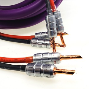 Image 4 - Furutech Alpha OCC speaker cable HI FI high end amplifier speaker cable Banana head cable A Pair