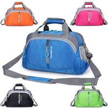 Новая сумка через плечо, стиль, спортивная сумка для спортзала, для мужчин и женщин, тренировочный пакет в Корейском стиле, короткая дорожная сумка, фабричная