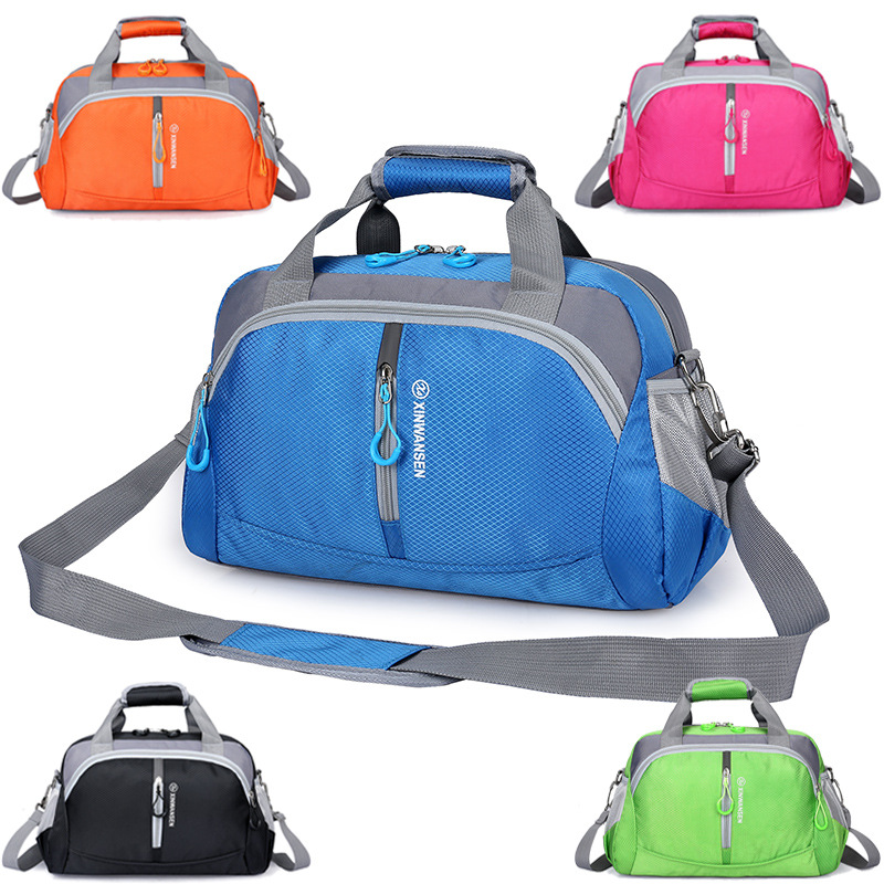 New Crossbody Bag New Style Sports Gym Bag Men And Women Training Package Korean-style Short Trip Travel Handbag Factory Wholesa