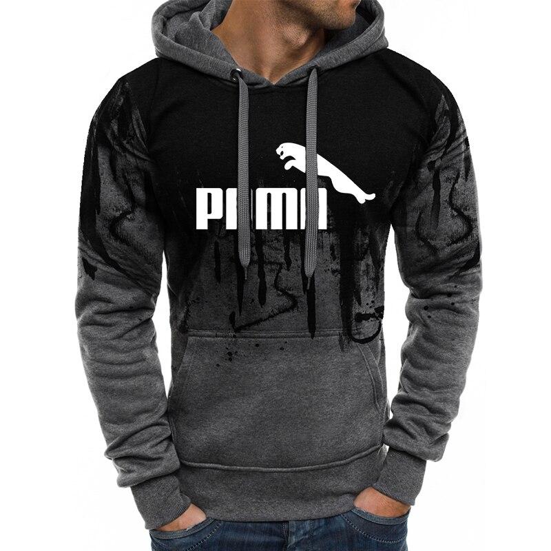 2020 Cacual Men Hoodies Long Sleeve Mens Sweatshirt Spring Autumn Hoodie Letter Hombre Pullover Sweatshirts Plus Size S-4XL