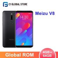 Global ROM Meizu V8 M8 4GB 64GB Smartphone Helio P22 Octa Core 12MP+5MP Camera Face recognition 5.7Full Screen 3100mAh cellphone