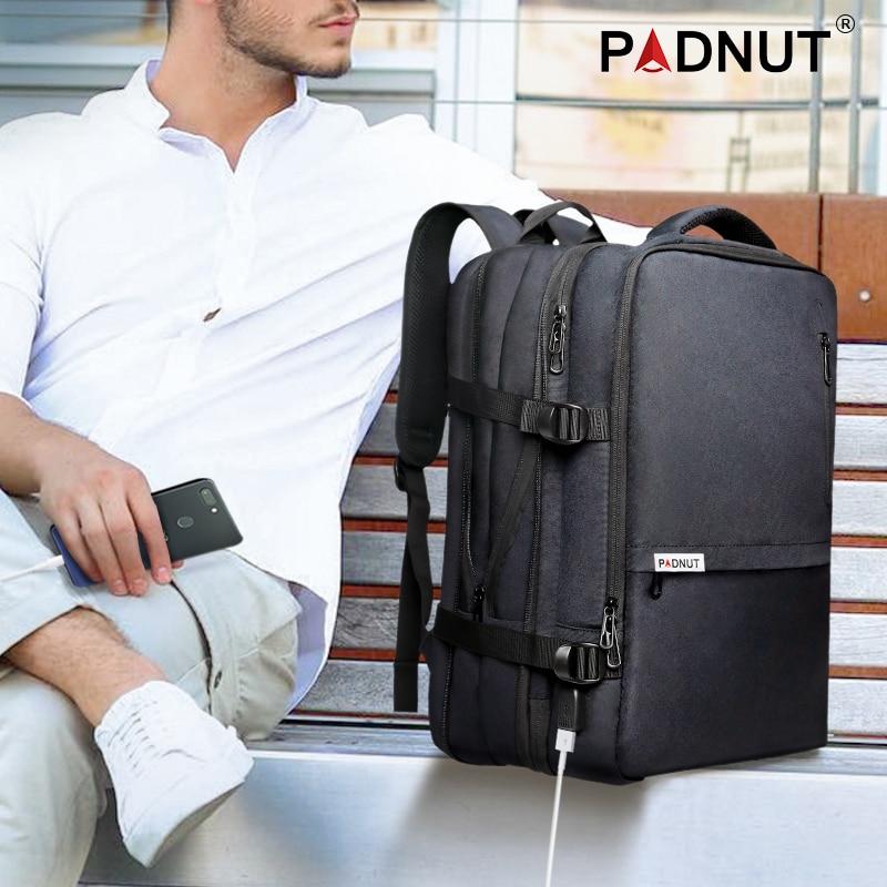 Echtes Leder Daypack Rucksack Rucksack Rucksack Reisetasche Große Kapazität Business Laptop Taschen Hohe Qualität Männer Rindsleder Rucksack - 6
