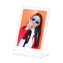 Andoer Transparent Mini Stand L-shape Acrylic Photo Frame for Fujifilm Instax 8 8+ 70 7s 90 25 26 50s 9 SP-1 SP-2 Film