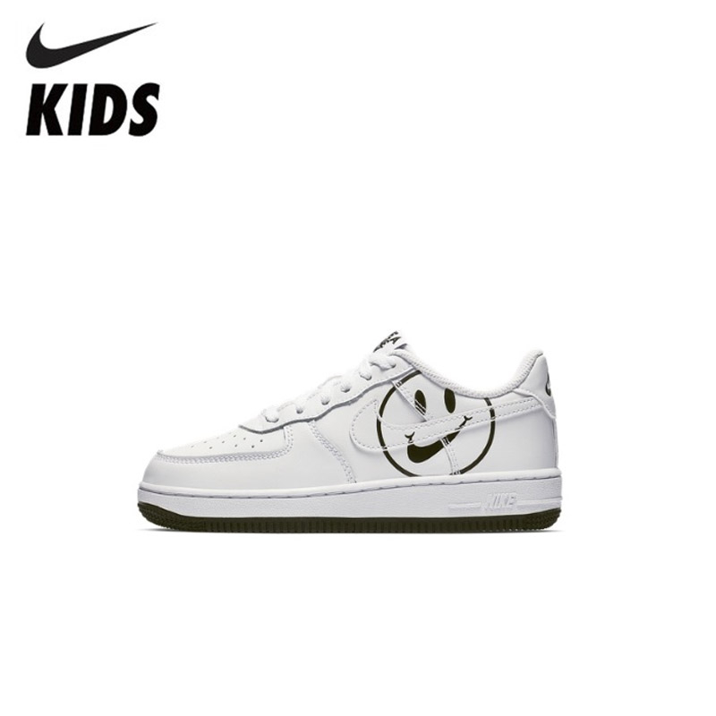 NIKE FORCE 1 LV8 2 (PS) Original Kids Shoes Comfortable Children Skateboarding Shoes Outdoor Sports Sneakers #BQ8274