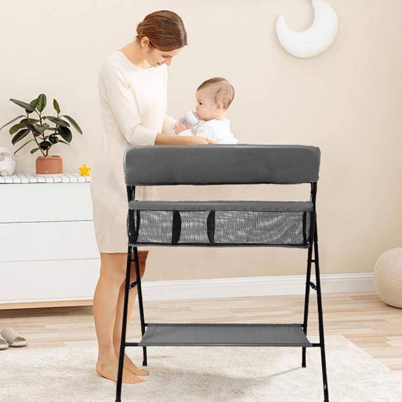 Baby Changing Table Bathing Massage Multi-function Can Folding Baby Changer Diapers For Children Care Table Kid Care SuppliesHWC