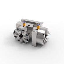 TeJing-mandril de torno neumático, torno de 4 mordazas, Portabrocas de aire, bloque cuadrado, compatible con EROWA
