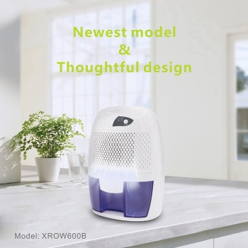Mini Dehumidifier Air Purifier Moisture Damp Home Bedroom Bathroom Kitchen UK Plug