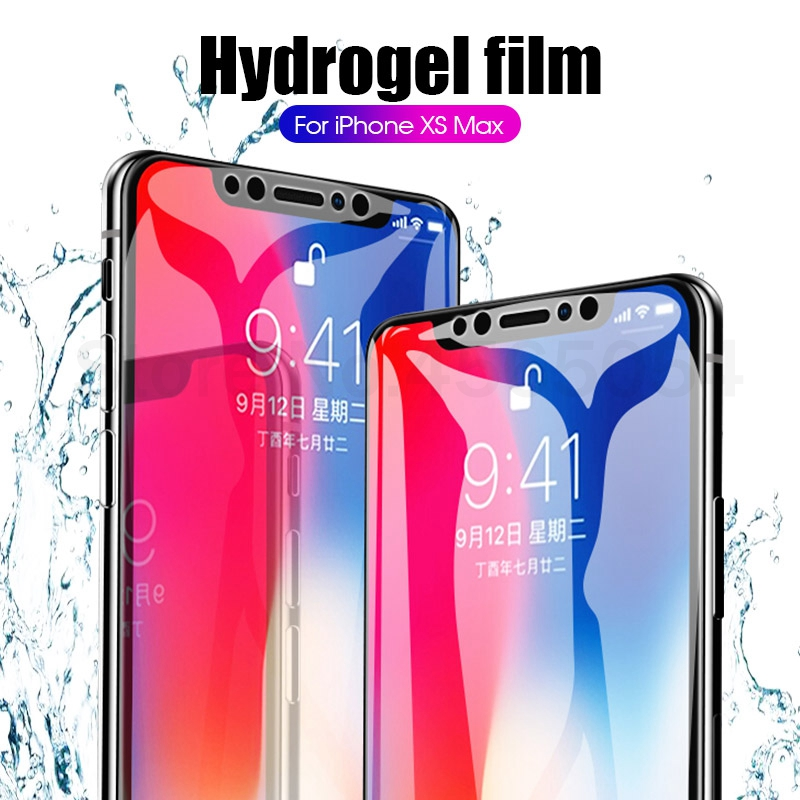 Soft Hydrogel Film For IPhone 11 Pro Max 6.5 XR X XS Max 7 8 Front Screen Protective Film For Iphone 11 2019 6 6S 7 8 Plus