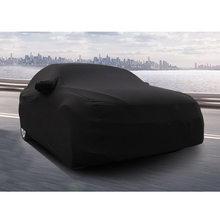 Cr 1 pc capa de carro elegante durável elástico à prova de poeira profissional escudo de pano carro capa protetor para mostrar ao ar livre
