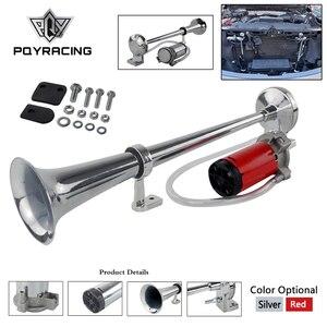 150DB Super Loud 12V Single Trumpet Air Horn Compressor Car Lorry Boat Motorcycle PQY-LB10